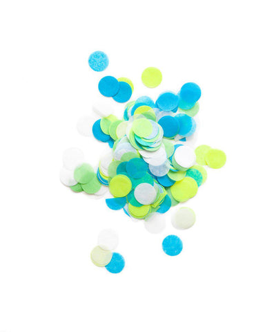 Blue Party Confetti Bags