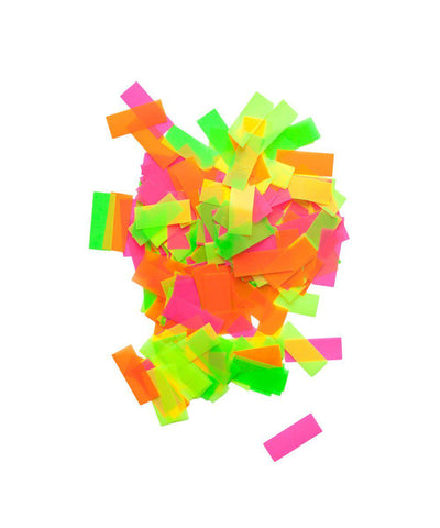 Neon Party Confetti Bag