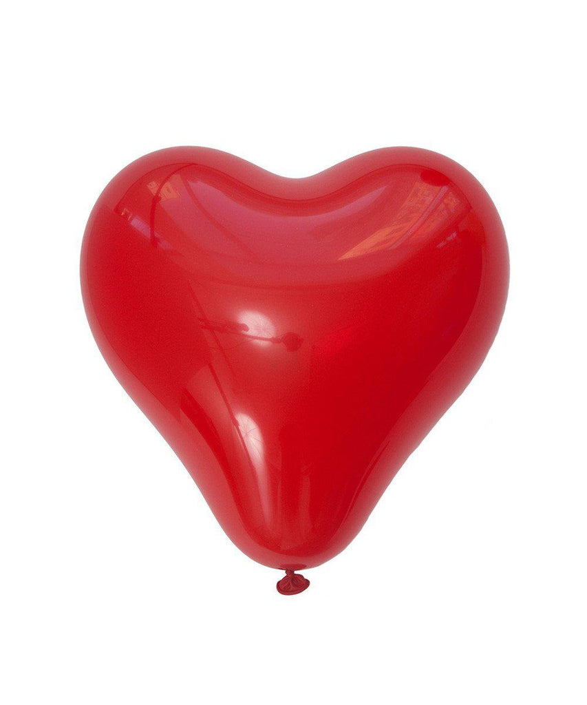 11 heart balloon in red - How to make heart balloon ...