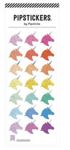 Rainbow Unicorn Sticker Sheet