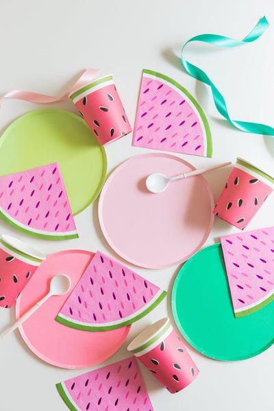 Watermelon Wedge Cocktail Napkins