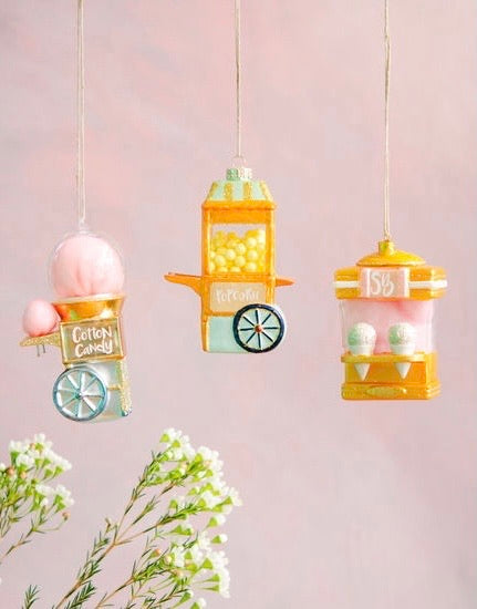 Popcorn Machine Ornament