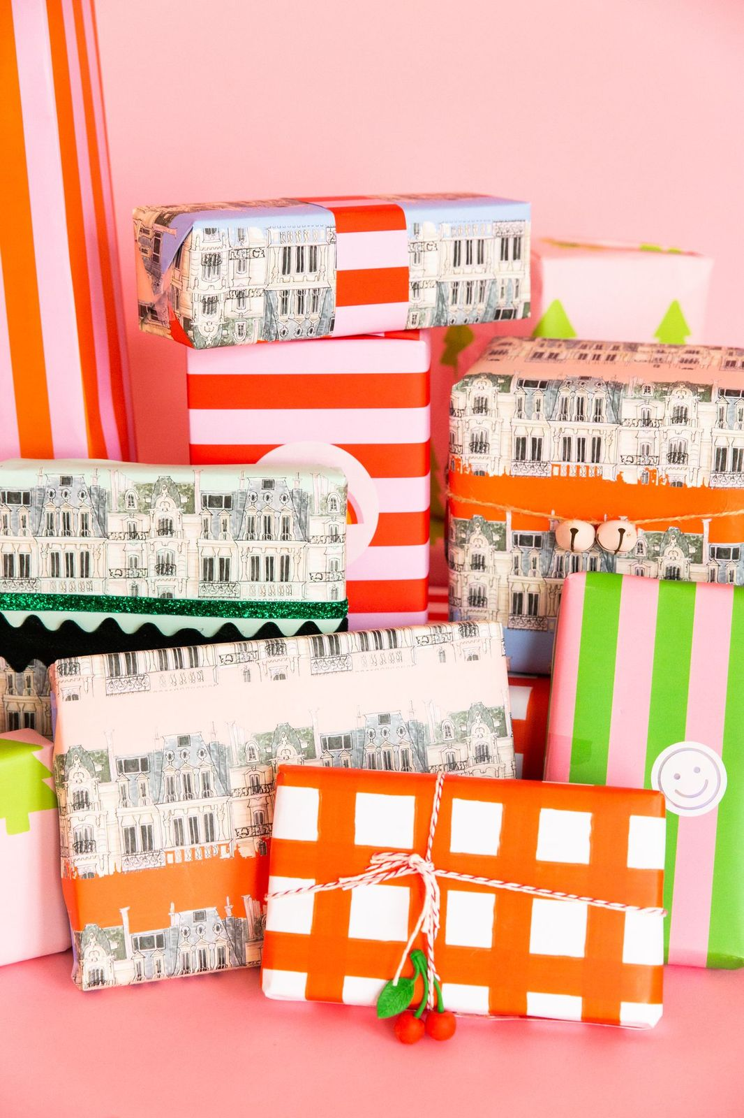 French Apartment Wrapping Paper