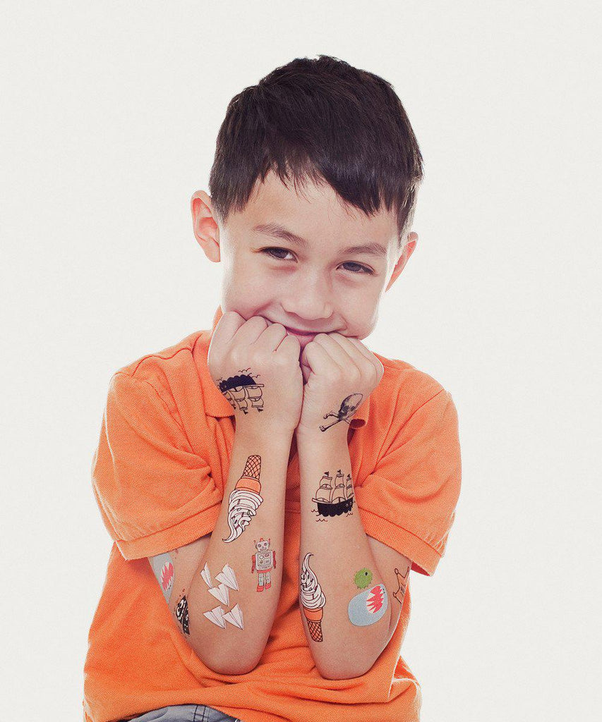 Temporary Tattoos: Kids Mix One