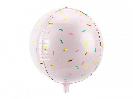 "16"" Pink Sprinkle Foil Balloon"
