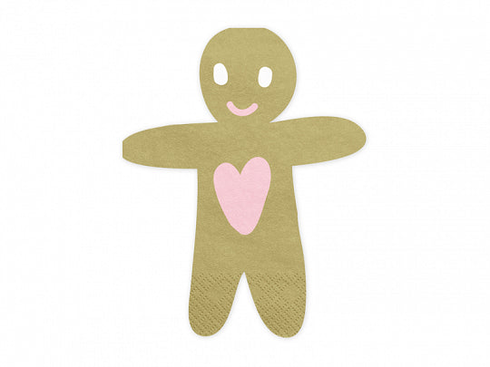 Gingerbread Man Napkins
