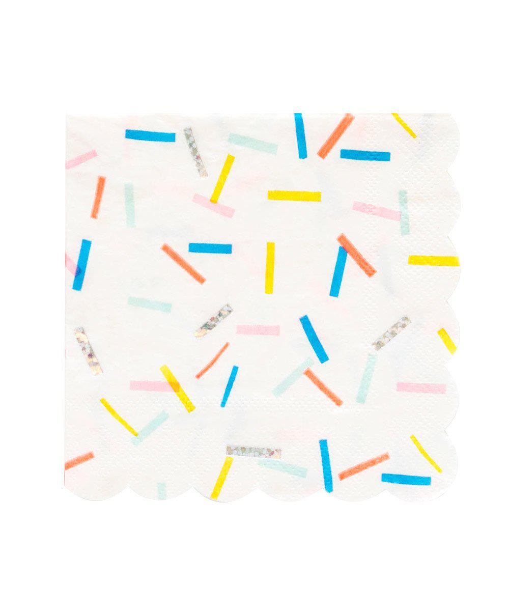 Sprinkles Party Napkins (Large)