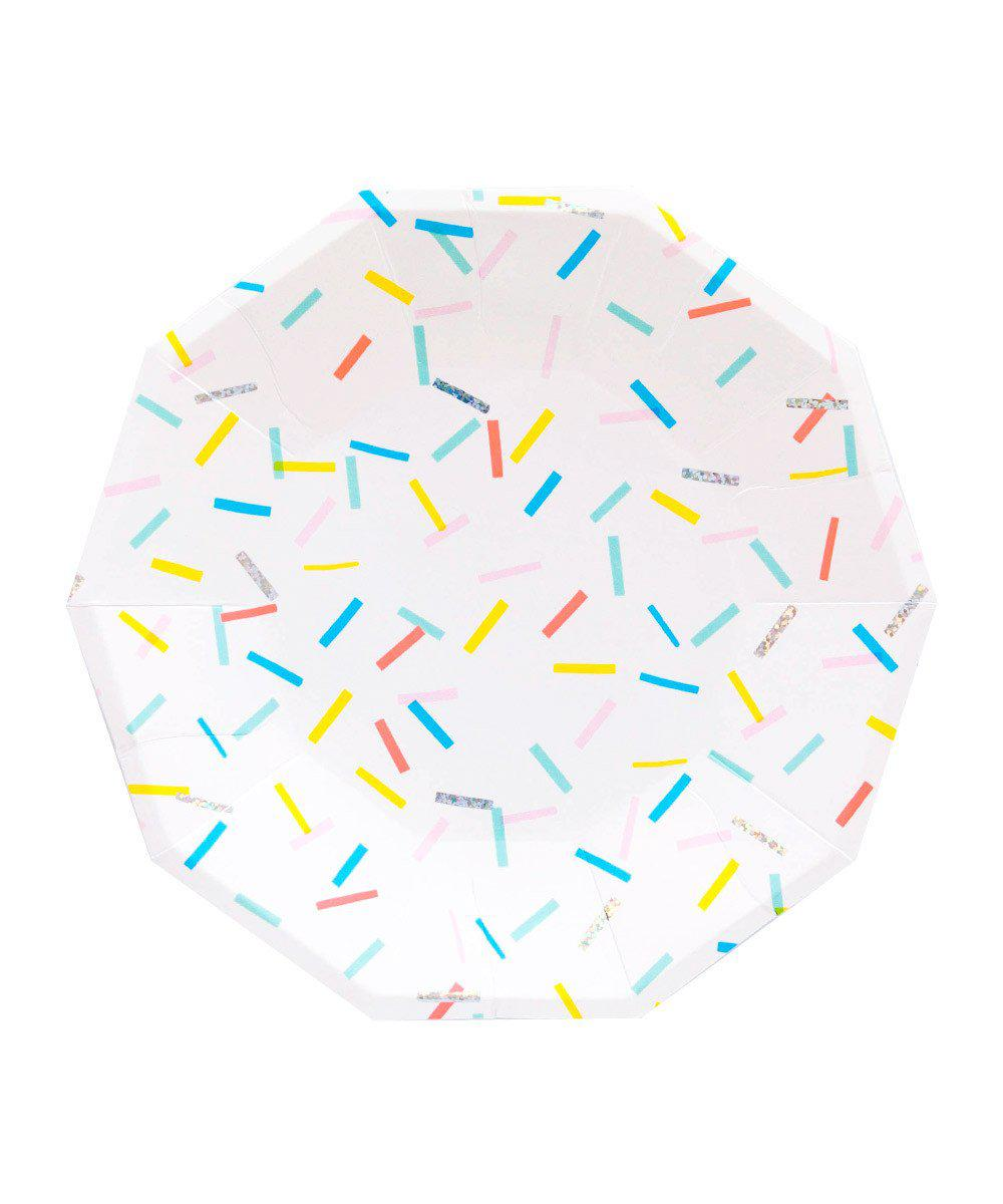 Sprinkles Party Plates (Large)