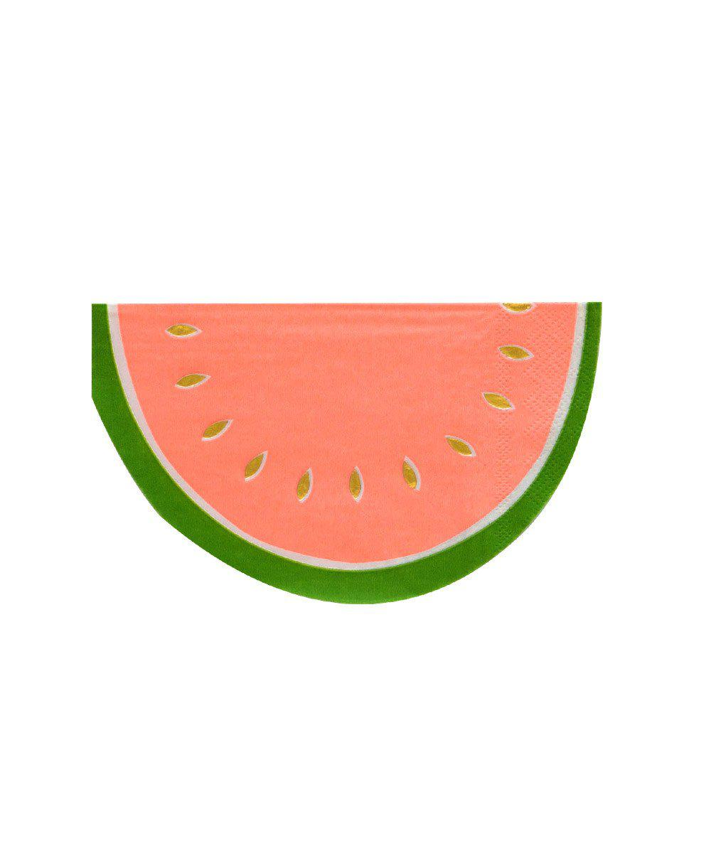 Watermelon Shape Party Napkins