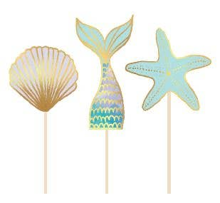 Mermaid Treat Picks