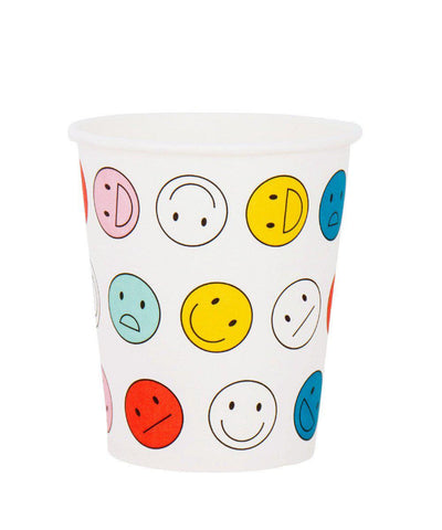 Faces Party Cups