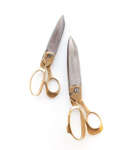 Brass Heirloom Scissors