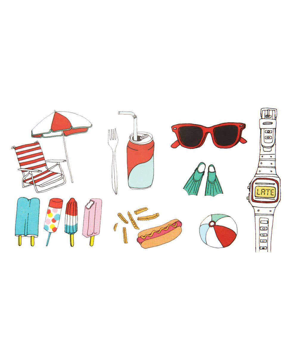 Temporary Tattoos: Boardwalk Set