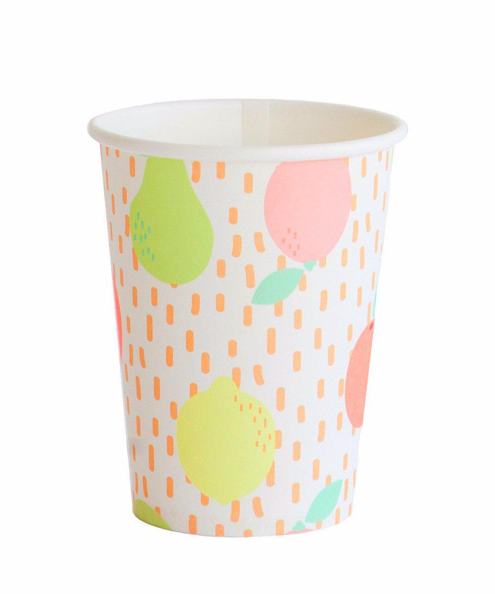 Citrus Party Cups
