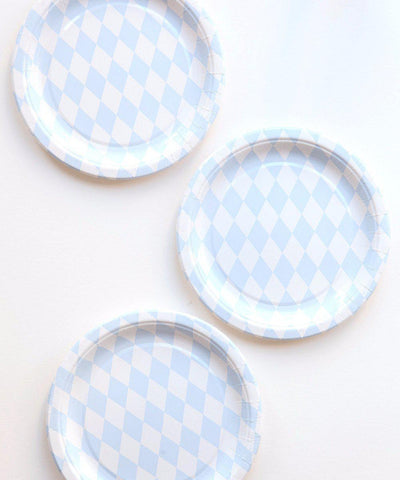 Diamond Party Plates