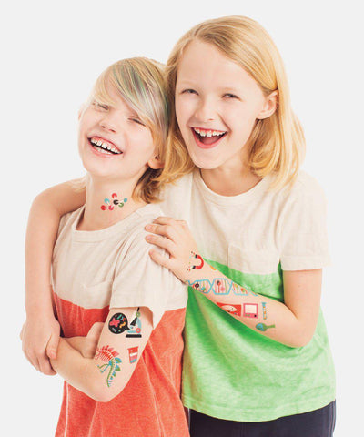 Temporary Tattoos: Science Set