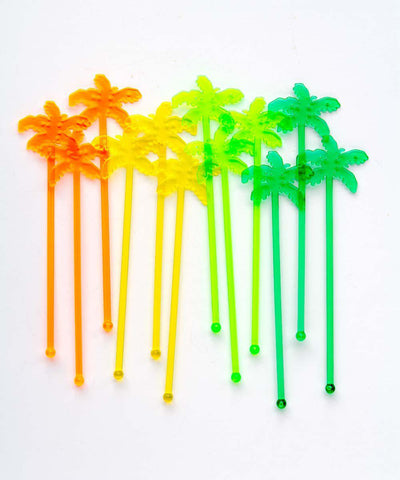 Palm Tree Stirrers