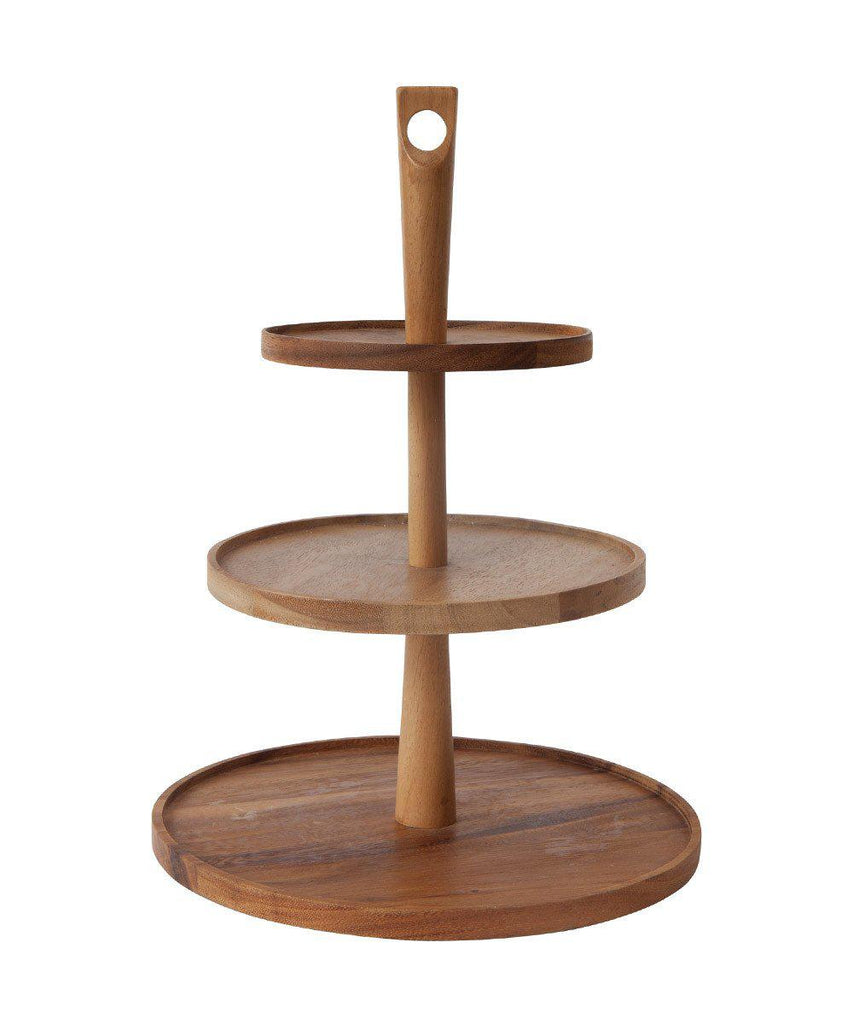 sc 1 st  Oh Happy Day Party Shop & Wooden Three Tier Cup Cake Stand