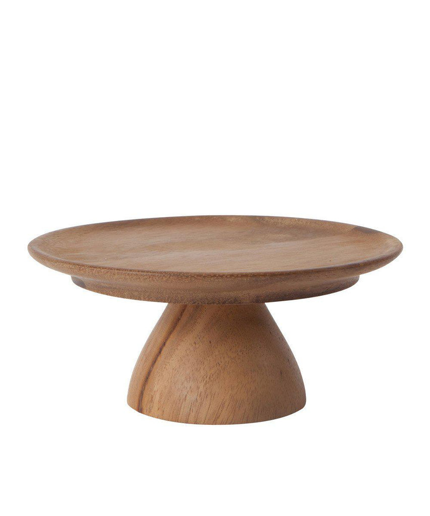 Wooden Cake Stand Small