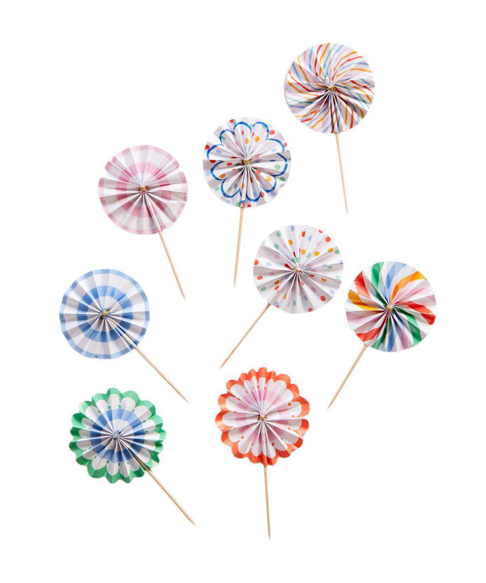 Mini Pinwheel Toppers