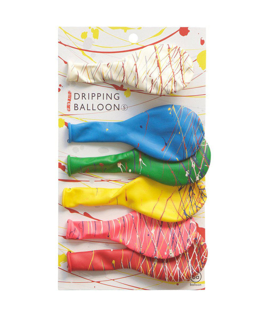 Paint Splatter Balloon Pack