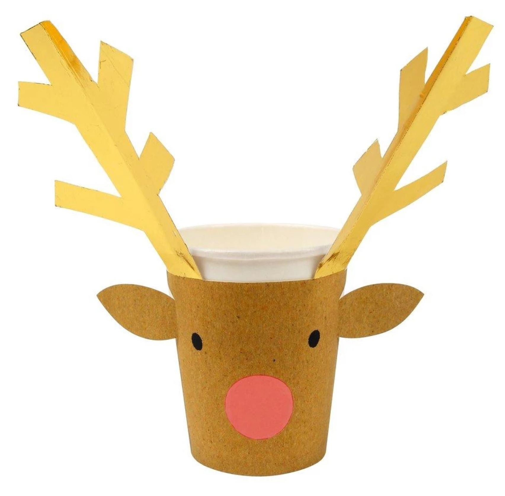 Holiday Reindeer Cups