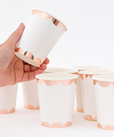 Scallop Party Cups