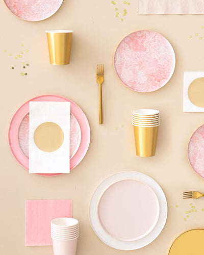 Oh Happy Day Pretty in Pink Plate Set (Large)
