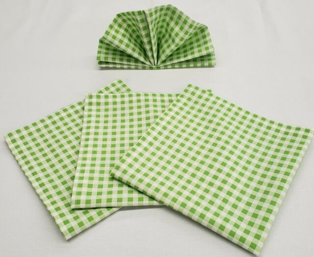 Bright Gingham Napkins