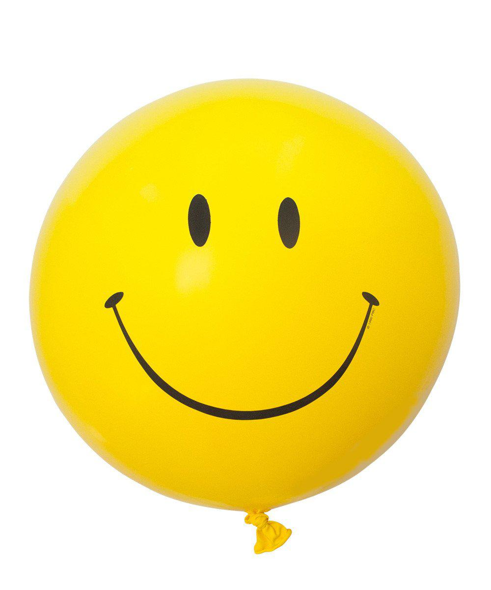 3' Smiley Face Balloon