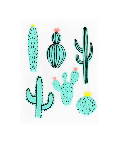 Puffy Cactus Stickers