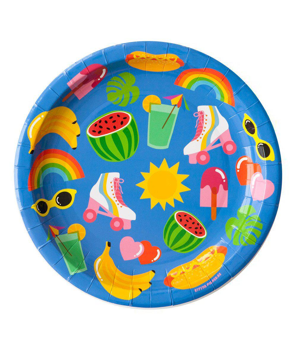 Summer Fun Party Plates