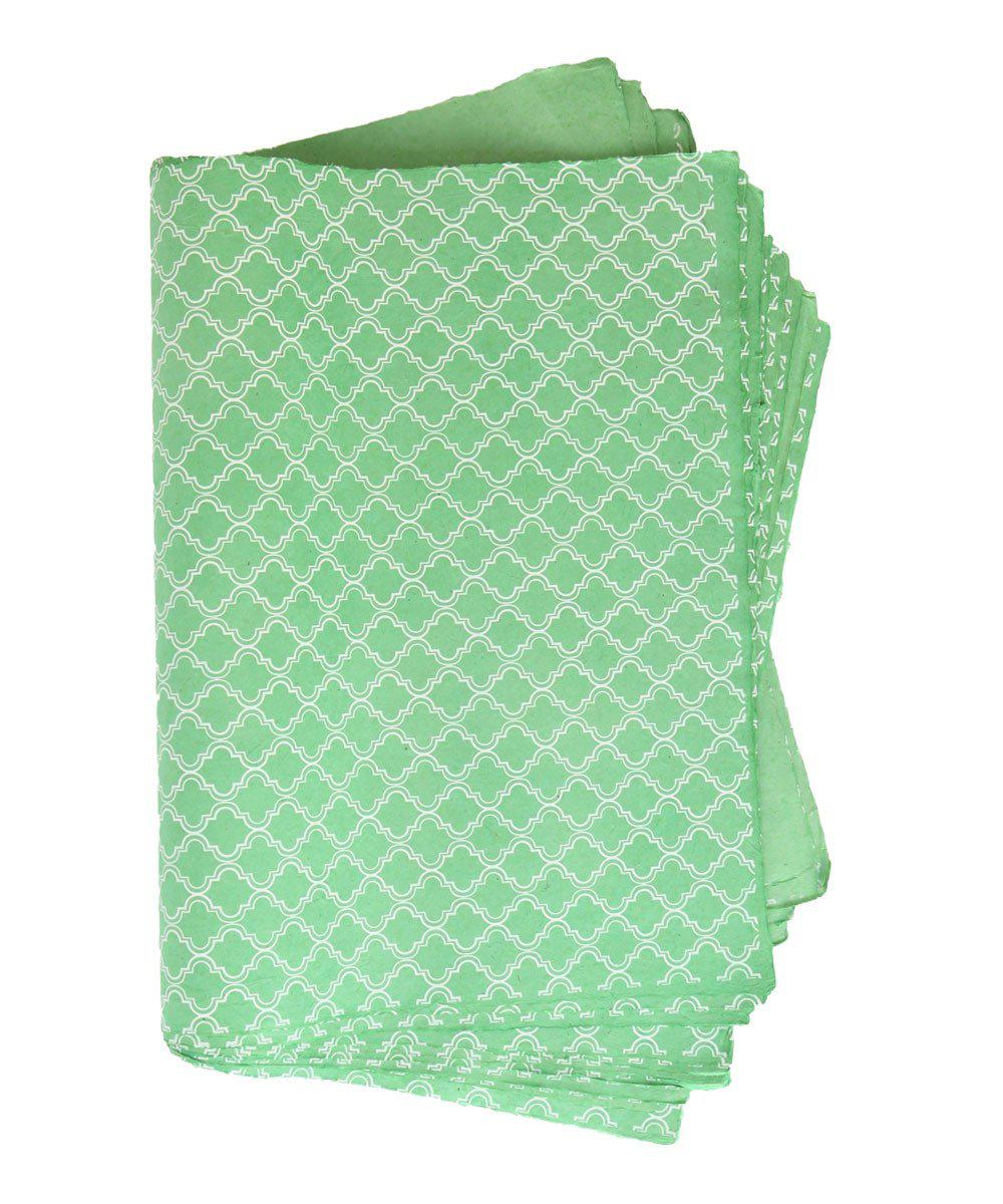 Emerald Garden Wrapping Paper