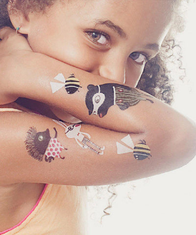 Temporary Tattoos: Zoo Crew Set