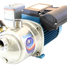 JSC -  STAINLESS STEEL SHALLOW WELL SELF PRIMING JET PUMP