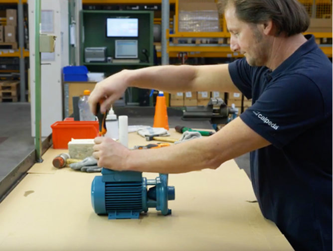 How to assemble and disassemble C water pumps
