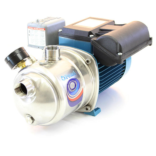 PEARL STAINLESS STEEL SHALLOW WELL SELF PRIMING JET PUMP - JSC MODEL