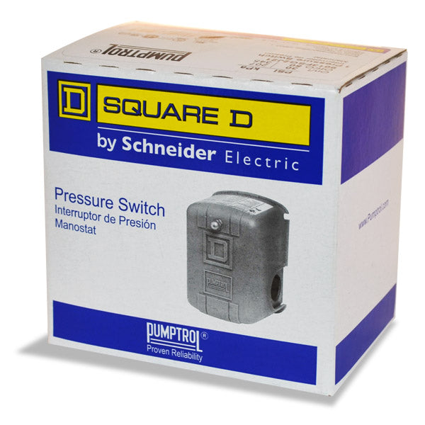 Pressure Switch Square-D Multiple Pressure ranges and connection type - FSG Models  2