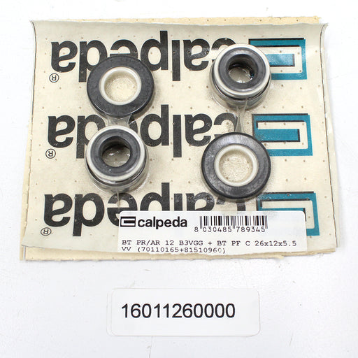 CALPEDA PUMP SHAFT SEAL REPLACEMENT - MECHANICAL SEAL FOR SULFUR WATER BT PR/AR 12 B3VGG - 16011260000