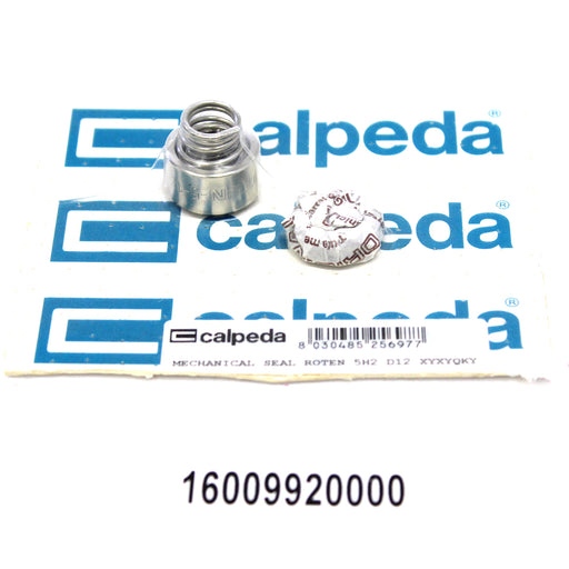 CALPEDA PUMP SHAFT SEAL REPLACEMENT - MECHANICAL SEAL ROTEN 5H2 XYXYQKY D12 - SPECIAL SEAL - 16009920000