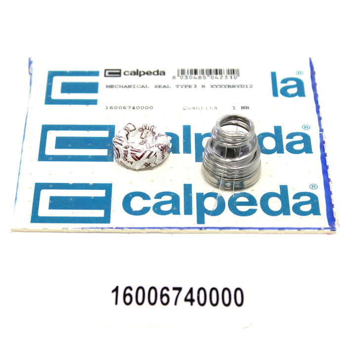 CALPEDA PUMP SHAFT SEAL REPLACEMENT - MECHANICAL SEAL TYPE3 R XYXYRRYD12 - Special Seal - 16006740000