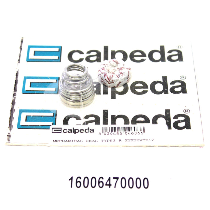 CALPEDA PUMP SHAFT SEAL REPLACEMENT - MECHANICAL SEAL TYPE3 R XYXY2VYD12 - Special Seal - 16006470000