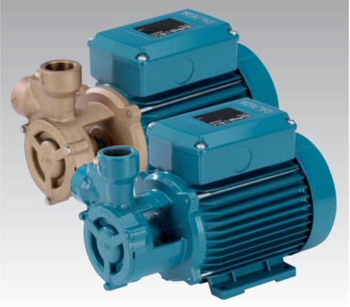CALPEDA TP SERIES - TURBINE PUMPS WITH PERIPHERAL IMPELLER