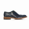 Polished leather oxford brogue