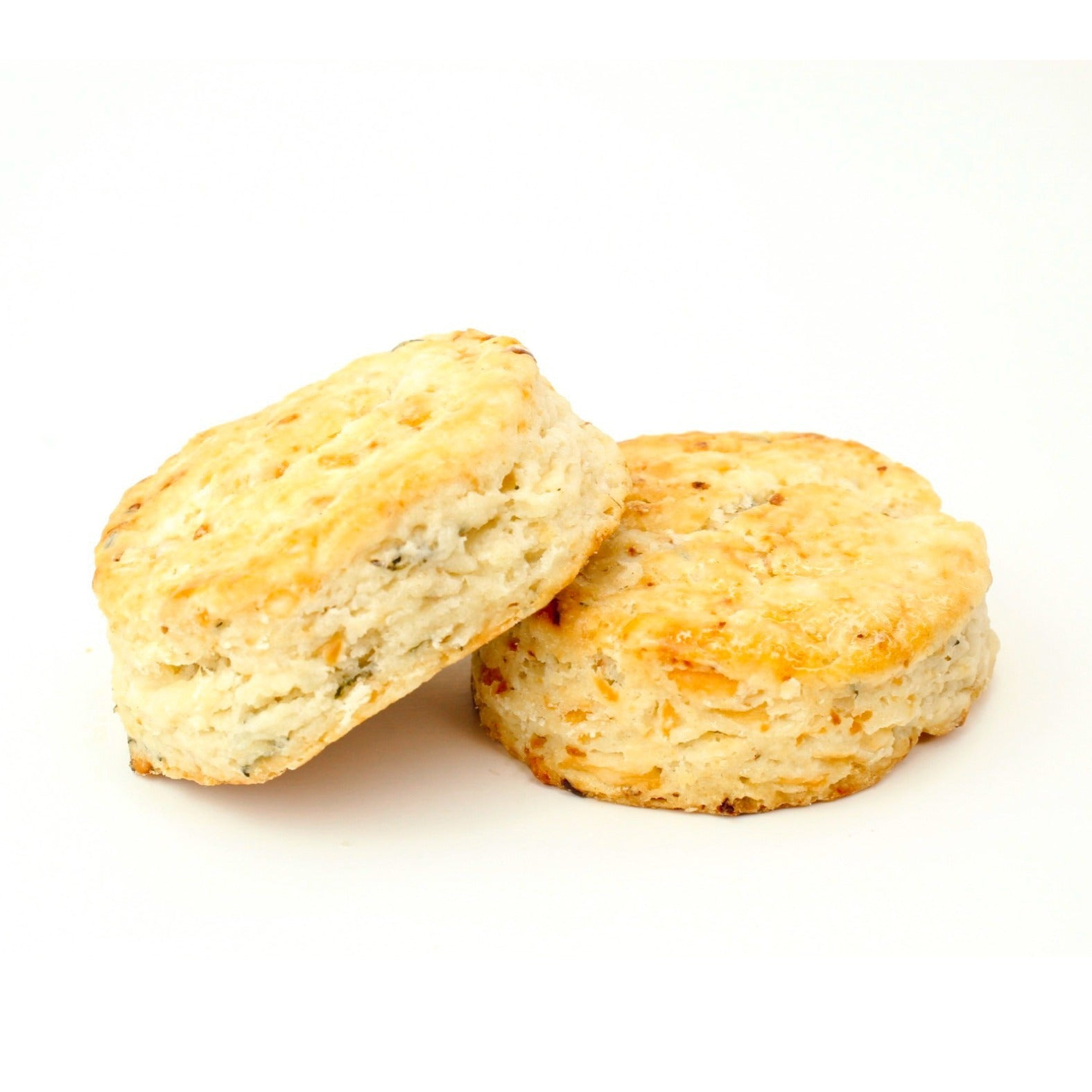 Roasted Garlic, Asiago & Thyme Biscuits