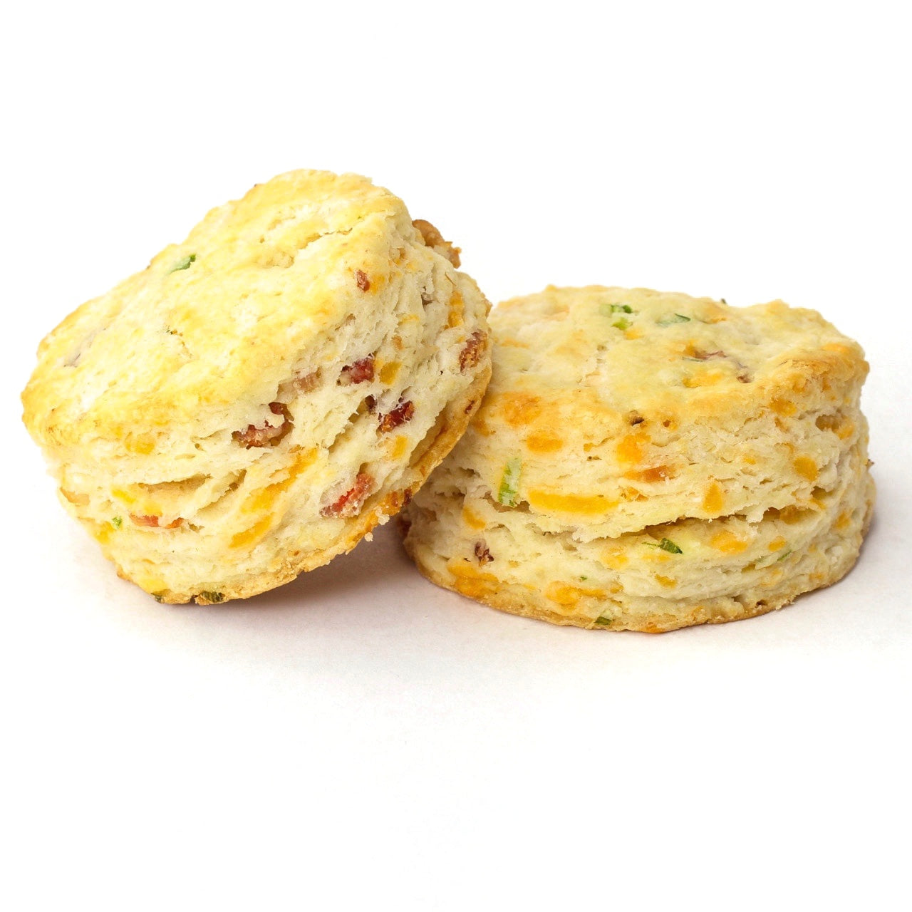 Bacon, Cheddar & Green Onion Biscuits