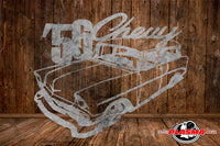 CUT READY, 1956 Chevrolet Chevy Wagon, SVG, DXF