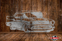 CUT READY, 1957 57 Chevy, SVG, DXF