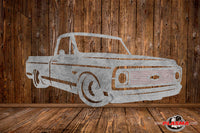 CUT READY, Chevrolet c10 Truck with bowtie grill, SVG, DXF