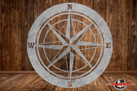 CUT READY, Nautical Compass, SVG, DXF